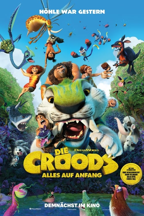 Die Croods - Alles auf Anfang - Animation / 2021 / ab 0 Jahre