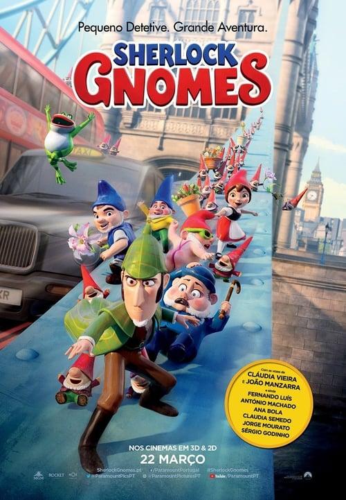 Assistir Gnomeu e Julieta: O Mistério do Jardim