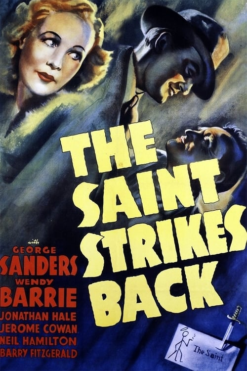 Largescale poster for The Saint Strikes Back