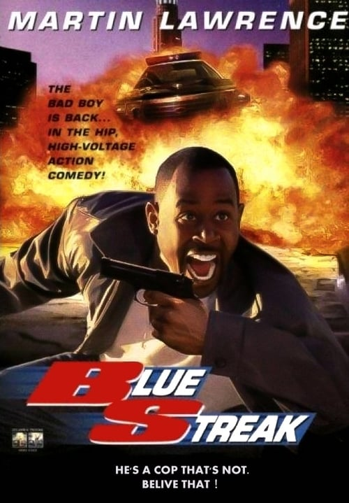 Blue Streak 1999 BluRay 720p 700MB Dual Audio ( Hindi – English ) MKV