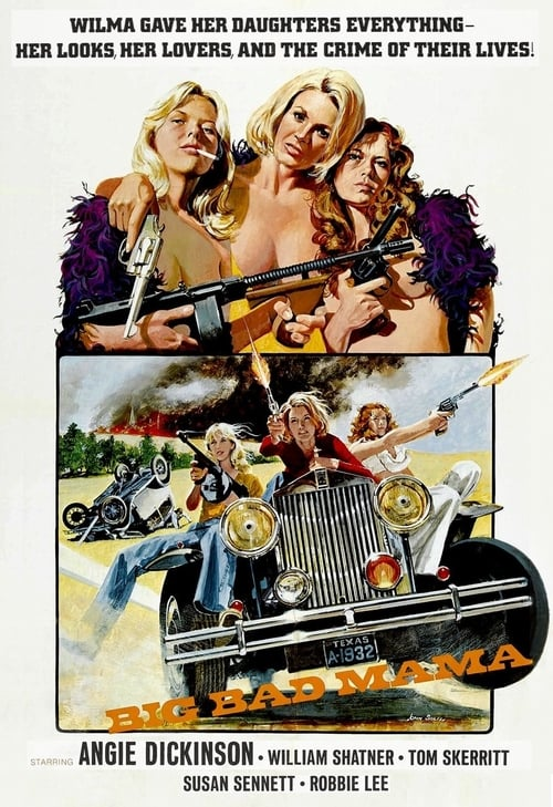 The poster of Big Bad Mama