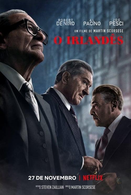 Assistir O Irlandês - HD 720p Dublado Online Grátis HD