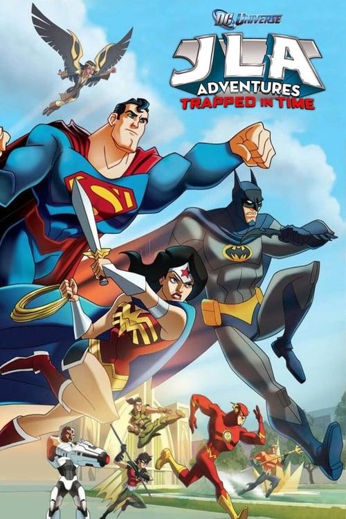 JLA Adventure Trapped in Time (2014) หยุดแผนย้อนเวลายึดโลก