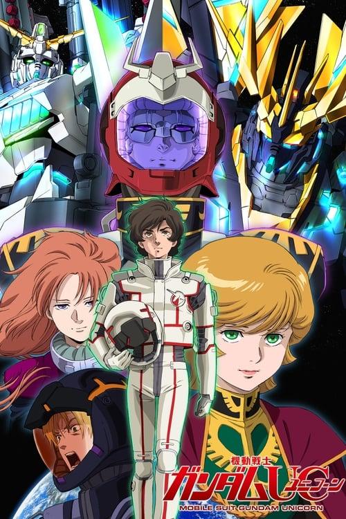 Poster von Mobile Suit Gundam Unicorn