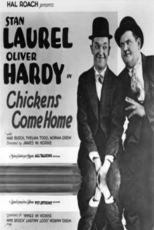 Laurel et Hardy - Quand les poules rentrent au bercail Streaming VF