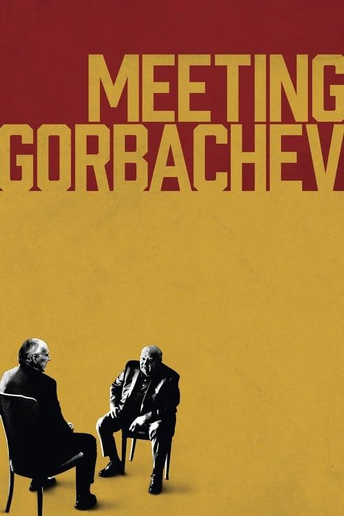 Meeting Gorbachev poster