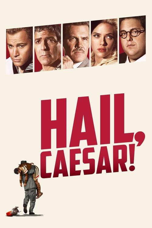 Poster for the movie, 'Hail Caesar'