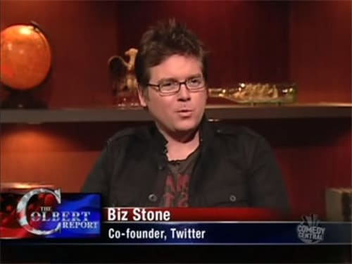 The Colbert Report: Season 5 – Episod Biz Stone