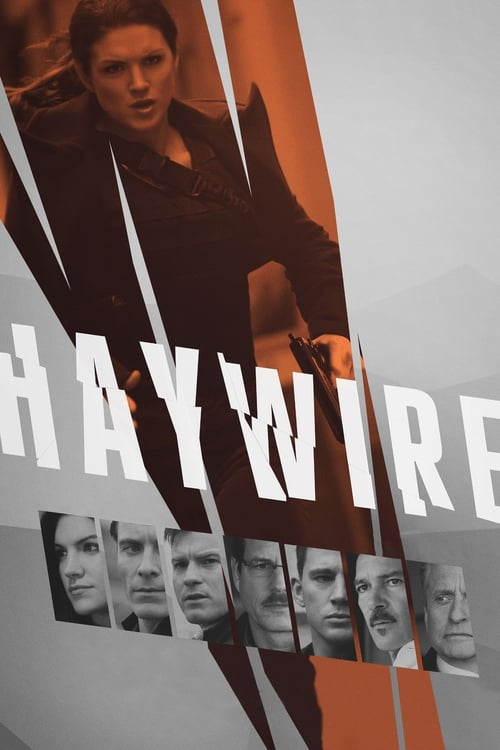 Poster for the movie, 'Haywire'