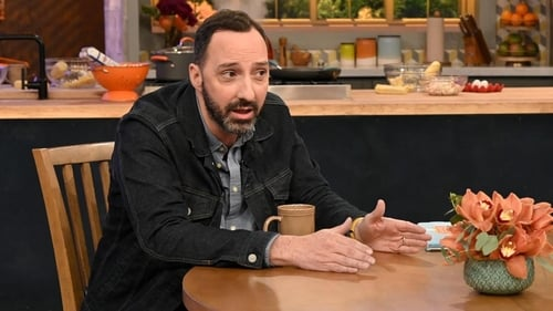 Rachael Ray - Season 14 - Episode 4: Veep star Tony Hale is Joining Rachael in The Kitchen as Her Sous-Chef for the Day