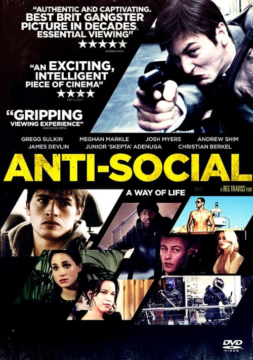 The poster of Anti-Social