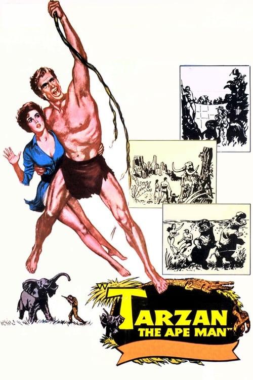 Mira La Película Tarzan, The Ape Man En Buena Calidad Gratis