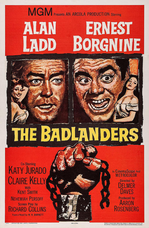 The Badlanders poster