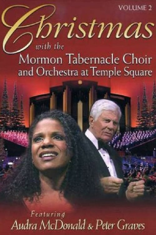 Largescale poster for Christmas with the Mormon Tabernacle Choir and Orchestra at Temple Square Featuring Audra McDonald and Peter Graves