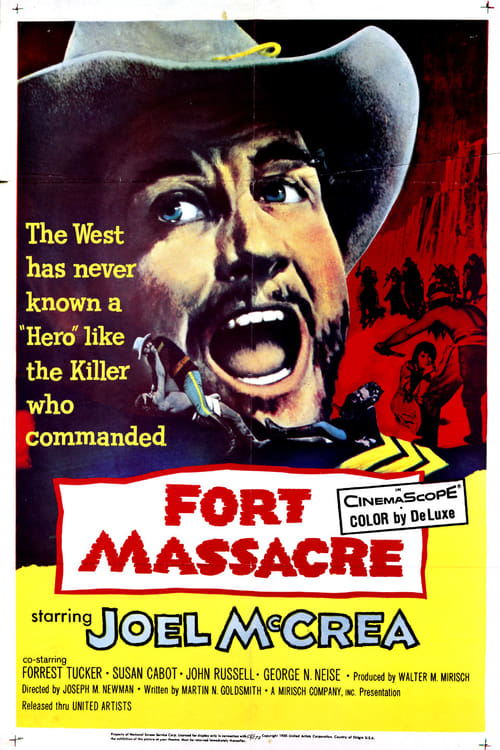 Fort Massacre poster
