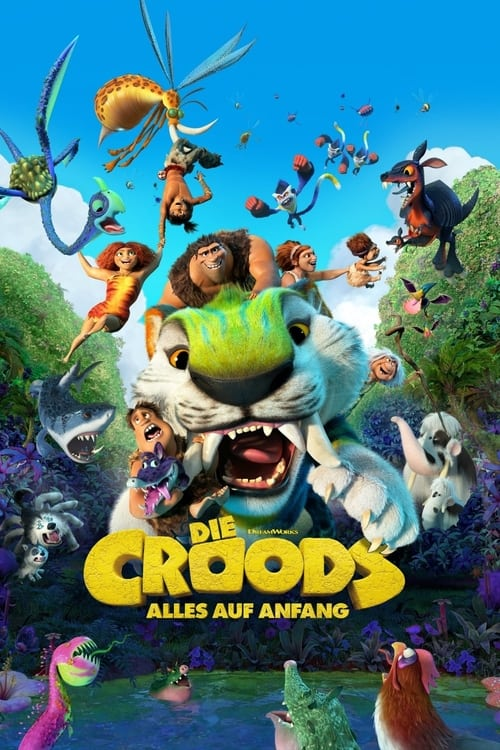 Die Croods - Alles auf Anfang - Familie / 2021 / ab 0 Jahre