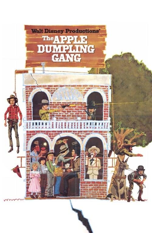 The Apple Dumpling Gang (1975) Poster