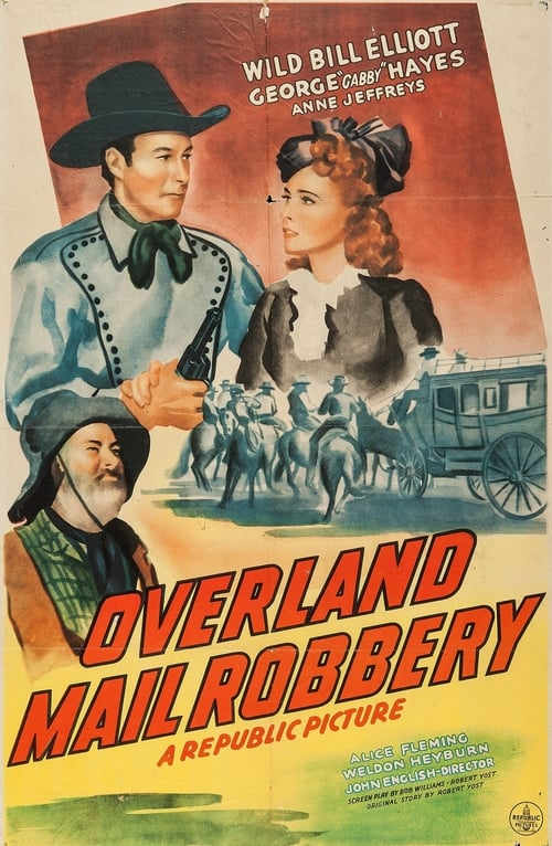 Largescale poster for Overland Mail Robbery