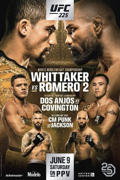 Film UFC 225: Whittaker vs. Romero 2 De Bonne Qualité Gratuitement