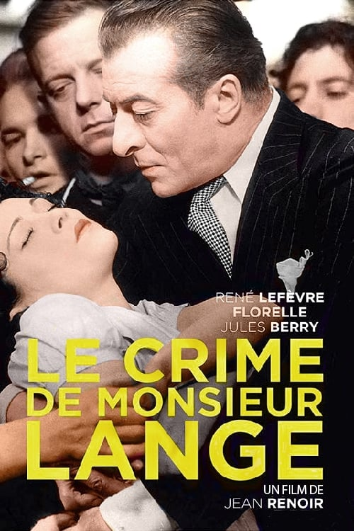 Film Ansehen Das Verbrechen des Herrn Lange Kostenlos In Guter Qualität An