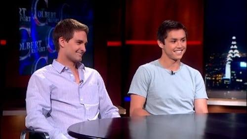 The Colbert Report: Season 9 – Episode Evan Spiegel & Bobby Murphy