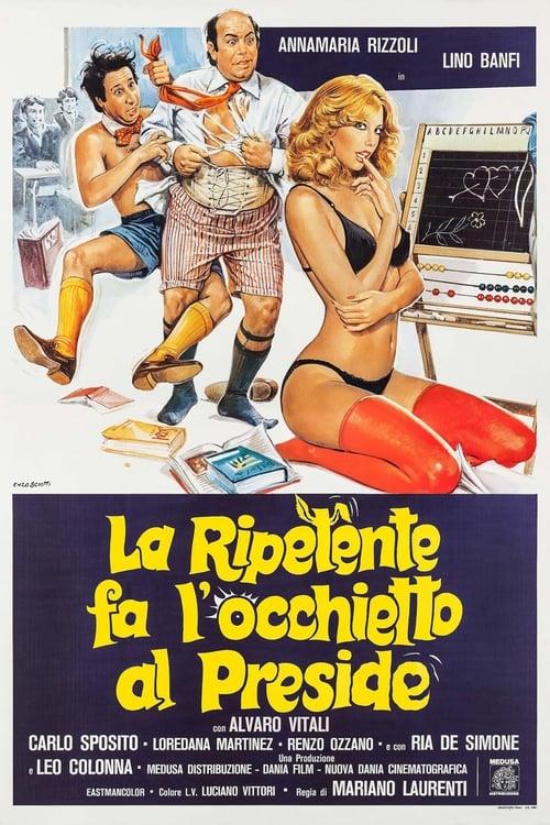 La ripetente fa l'occhietto al preside (1980)
