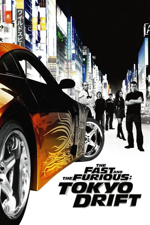The Fast and the Furious: Tokyo Drift - Poster