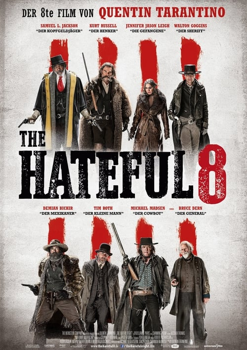 The Hateful 8 - Poster