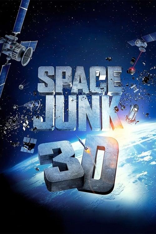 Space Junk 3D poster