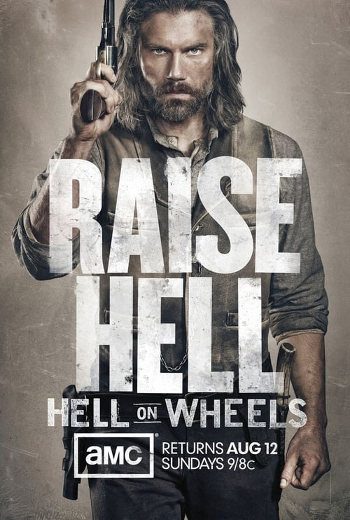 Hell on Wheels Poster
