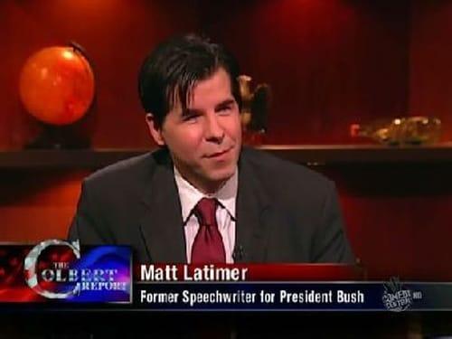 The Colbert Report: Season 5 – Episod Matt Latimer / Out Of The Closet