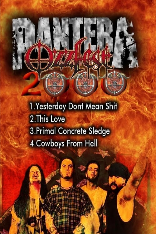 Ver pelicula Pantera : Live at Ozzfest 2000 Online