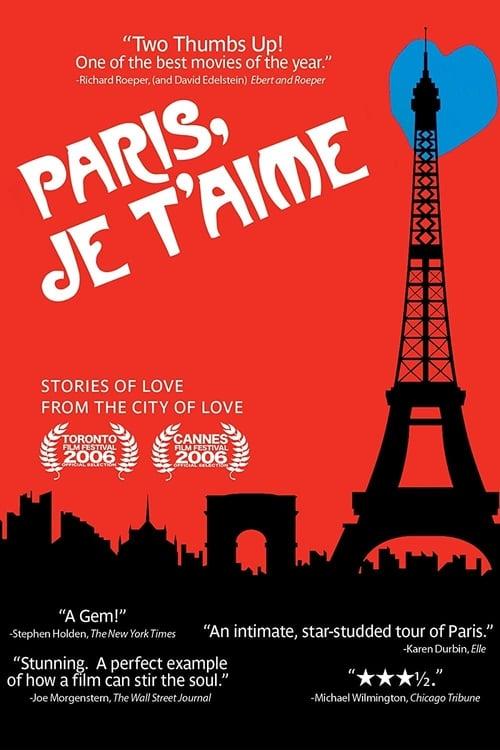Paris, je t'aime - Poster
