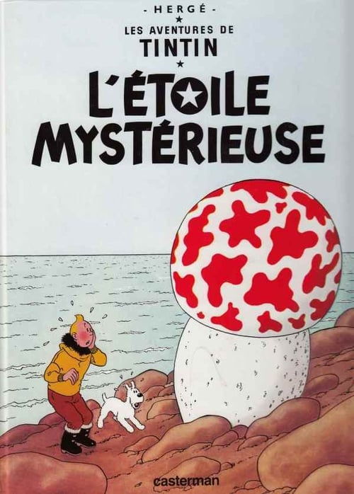 Tintin : L'étoile Mystérieuse MEGA