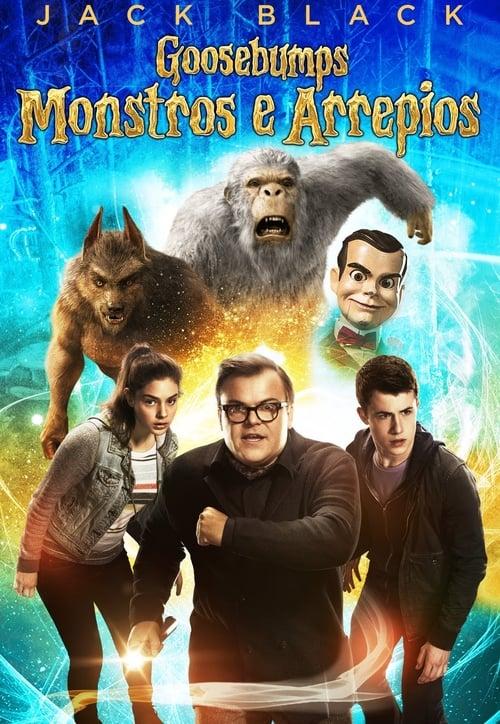 Filme Goosebumps: Monstros e Arrepios Dublado Em Português