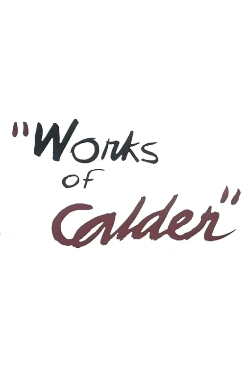 Film Works of Calder Auf Deutsch