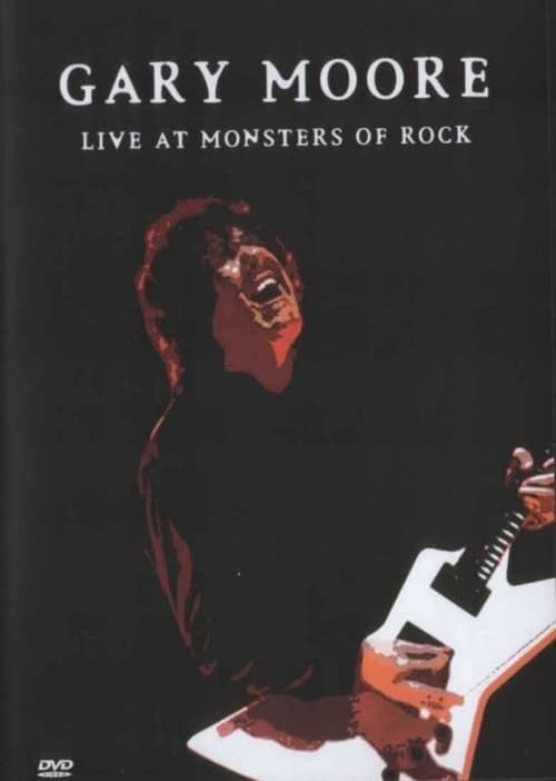 Ver pelicula Gary Moore: Live at the Monsters of Rock Online