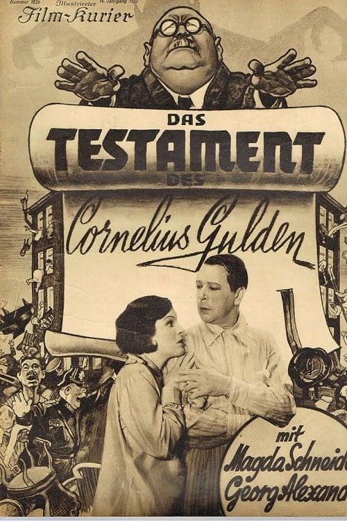 فيلم Das Testament des Cornelius Gulden باللغة العربية