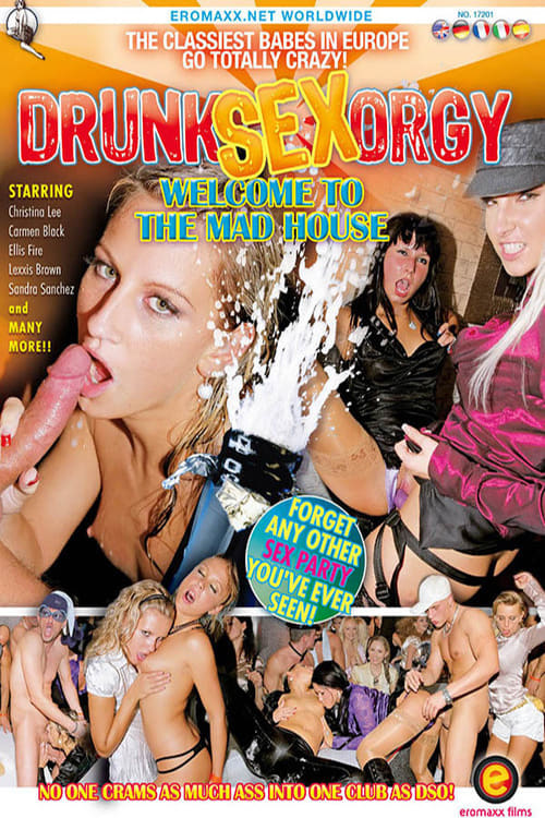 Drunk party sex house and club