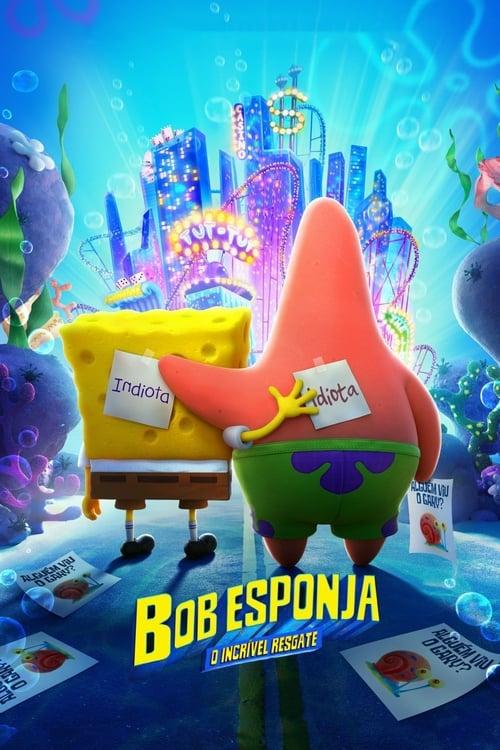 Assistir Bob Esponja: O Incrível Resgate - HD 720p Dublado Online Grátis HD