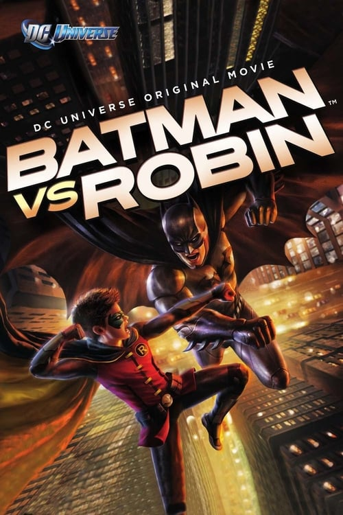 Batman vs. Robin poster