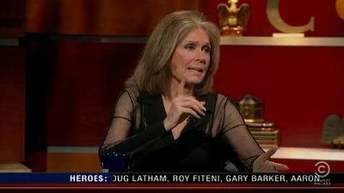 The Colbert Report: Season 7 – Episod Gloria Steinem