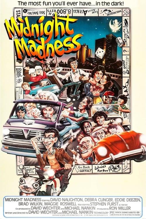 Midnight Madness (1980) Poster