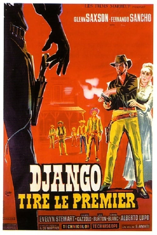 Poster von Django - Nur der Colt war sein Freund
