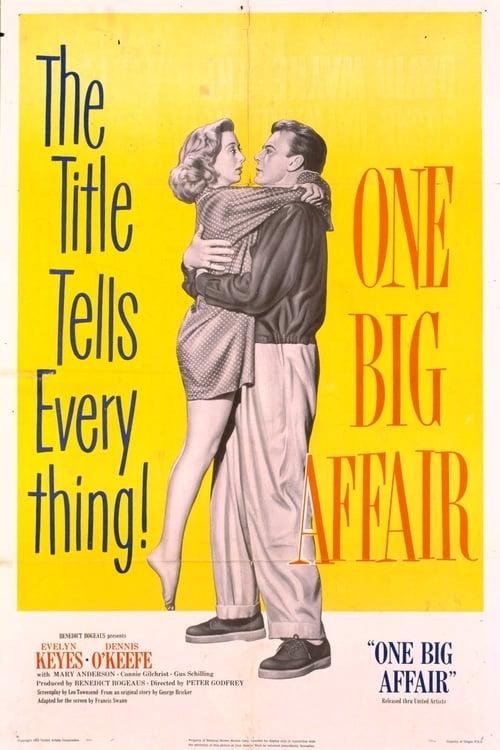 Película One Big Affair En Línea