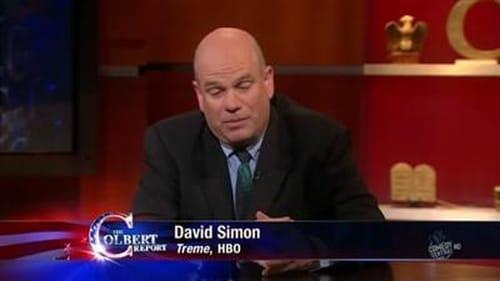 The Colbert Report 2010 Blueray: Season 6 – Episode David Simon