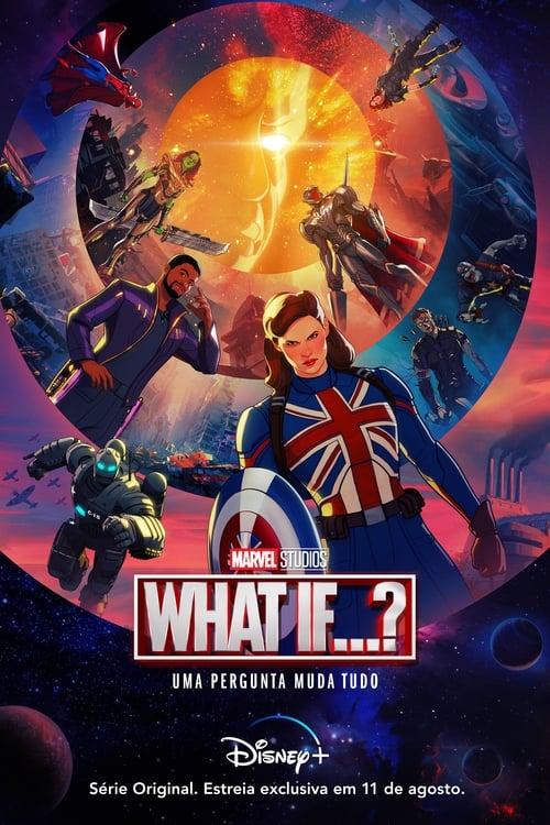 What If…? 1ª Temporada Dual Áudio 2021 - HDTV 1080p / 720p / 4K 2160p Completo