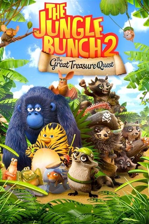 Mira La Película The Jungle Bunch 2: The Great Treasure Quest En Buena Calidad Hd 720p