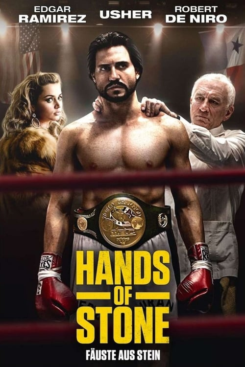Hands of Stone - Poster