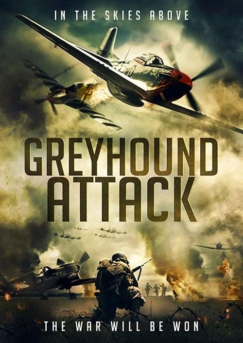 Greyhound Attack Poster